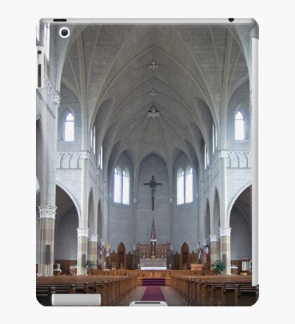 St. Benard Church, Nova Scotia iPad Case/Skin