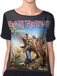 IRON MAIDEN - THE TROOPER Chiffon Top