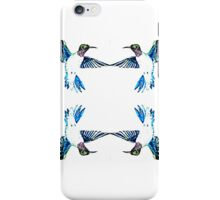 Hummingbird Ring iPhone Case/Skin