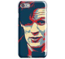 Matt Smith Hope Poster iPhone Case/Skin