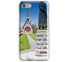 Church at Grand Pre, Nova Scotia iPhone Case/Skin