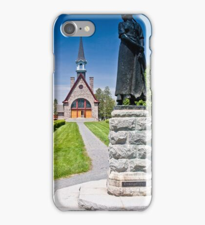 Church at Grand Pre, Nova Scotia iPhone Case/Skin