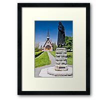 Church at Grand Pre, Nova Scotia Framed Print