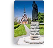 Church at Grand Pre, Nova Scotia Canvas Print