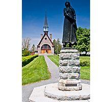 Church at Grand Pre, Nova Scotia Photographic Print