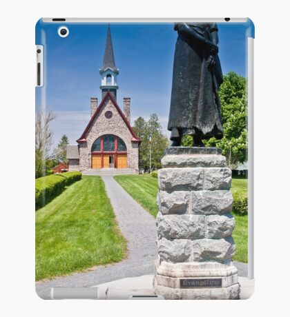 Church at Grand Pre, Nova Scotia iPad Case/Skin