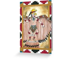 The Hawk Man Greeting Card