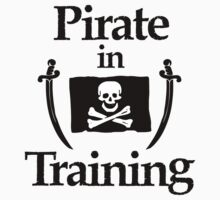 Pirate in Training  One Piece - Long Sleeve