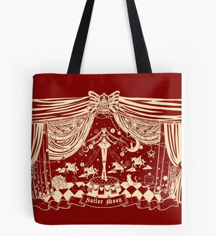 Moonlight Circus - Red Tote Bag