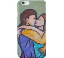"""""""Kissing on Friday Night"""" iPhone Case/Skin"""