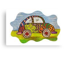 VW Punch Buggy Vroom Vroom Canvas Print