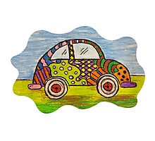 VW Punch Buggy Vroom Vroom Photographic Print