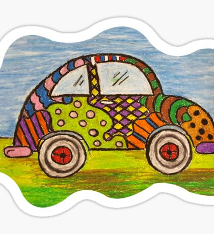 VW Punch Buggy Vroom Vroom Sticker