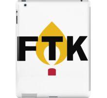 FTK Flame  iPad Case/Skin