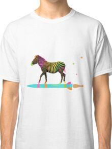 Zebra Rock It 6A Classic T-Shirt