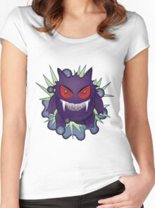 Ginger the Gengar Pokemon Women's Fitted Scoop T-Shirt