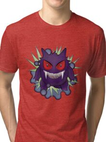 Ginger the Gengar Pokemon Tri-blend T-Shirt