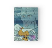 Handsome Squidward-  My Heart Will Go On Hardcover Journal