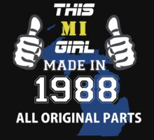 This Michigan Girl Made in 1988 by satro