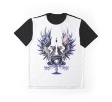 Dragon Age - Grey Warden Heraldry (Dark Blue/Gold) Graphic T-Shirt