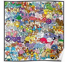 Pokemon - The First Generation Poster