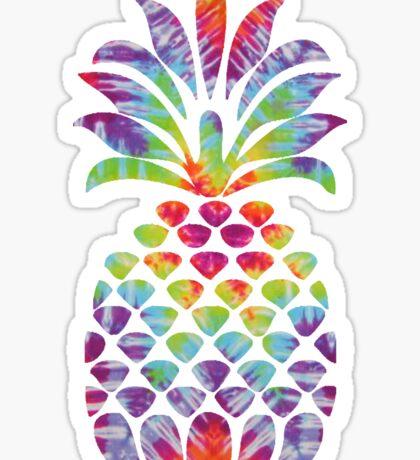 Hippy Pineapple  Sticker