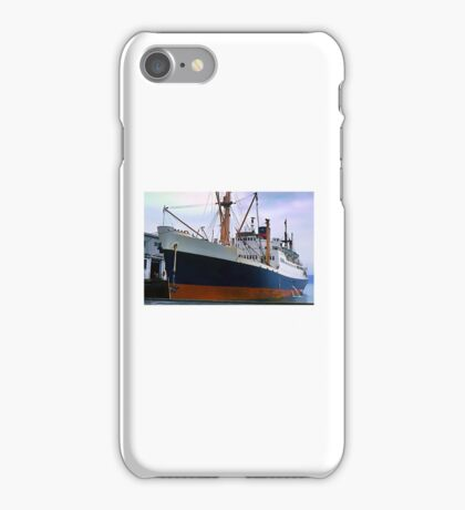 RMS Newfoundland, Ocean Liner Ship in Halifax iPhone Case/Skin