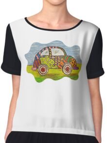 VW Punch Buggy Vroom Vroom Chiffon Top