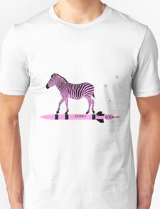 Zebra Rock It 2A Unisex T-Shirt