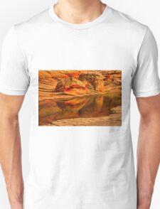 Petrified Dune Reflections Unisex T-Shirt