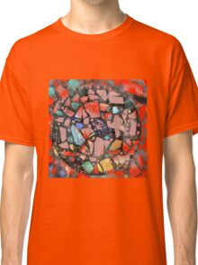 Abstract of Blue Willow China Pattern Classic T-Shirt