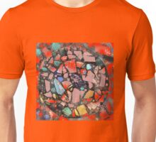 Abstract of Blue Willow China Pattern Unisex T-Shirt