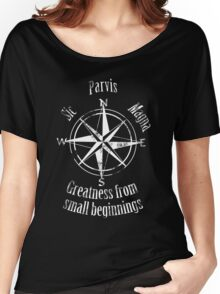Sic Parvis Magna vs1 Women's Relaxed Fit T-Shirt