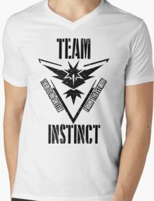 Team Instinct - There is No Shelter From the Storm #3 Mens V-Neck T-Shirt