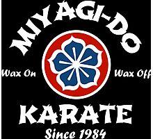 Wax On Wax Off Miyagi-Do Photographic Print