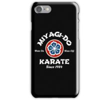 Wax On Wax Off Miyagi-Do iPhone Case/Skin