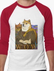 Mona Doge Men's Baseball ¾ T-Shirt