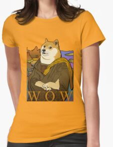 Mona Doge Womens Fitted T-Shirt