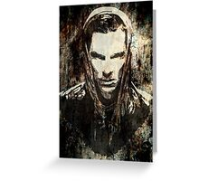 Benedict Cumberbatch - Khan (grunge) Greeting Card