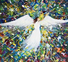 Healing Angel 1 by Kume Bryant