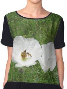 Flowers n Bees Chiffon Top