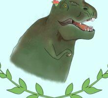 Coachellasaurus Rex Sticker
