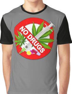 No Drugs Graphic T-Shirt