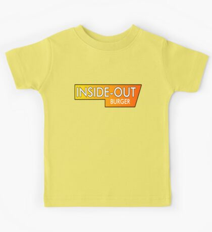 Inside Out Burger Kids Tee