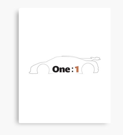 Koenigsegg One:1 Metal Print