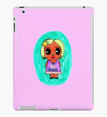 Sweet Chibi Donut Care! iPad Case/Skin