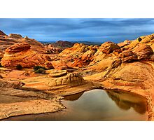 Reflections Of The Petrified Dunes Photographic Print