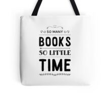 Book lover's dilemma  Tote Bag