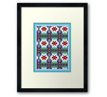 **Blue Berry Nuts** Framed Print
