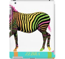 Zebra Zoom 6A iPad Case/Skin